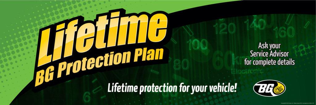 30x90 Lifetime BG Protection Plan Banner